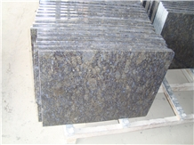 Chinese Blue Granite Butterfly Blue