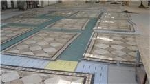 Marble Multicolor Floor Medallions