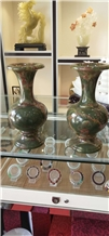 Multiclor Onyx Vases