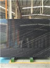 Silver Wave Marble ,Zebra Black Marble