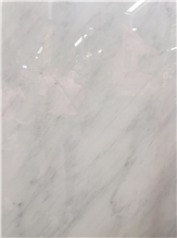 White and Grey Marble Slab