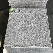 Light Grey Granite Floor Tile Slight Brown Speckle