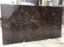 China Black Rose Marble Big/Small Polish Slab Tile
