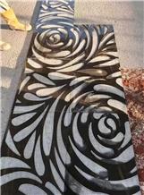Quicksand Brown Special Flower Interior Design