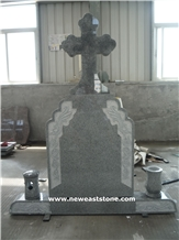 Romania Granite Cross Monument Heastone Tombstones