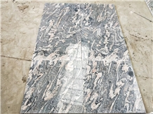 China Juparana Granite Slab Waves Red Granite
