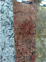 Magnum Red Granite Slabs, Tiles Cut to Size