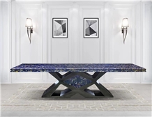 Luxury Italy Commercial Dining Table Top Furniture