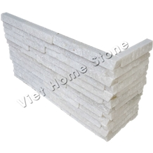 Vietnam Crystal White Corner Wall Panel