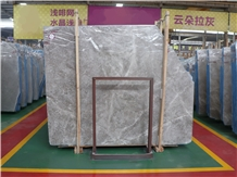 Dora Cloud Grey Ash Marble Ice Silver Spider Slabs