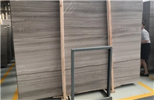 Wooden Grey Marble Slabs & Tiles