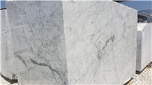 Bianco Gioia Statuarietto Marble Blocks