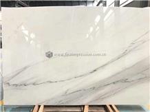 White Marble Slab/Linken White Marble