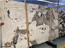 Amarillo Elo Baghdad Yellow Beige Marble Slab Wall