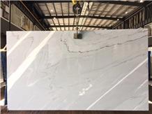 Bianco Persia Marble Alpine White Stone Slab Tile