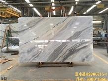 Brazil Royal Blue Marble Slab in China Market