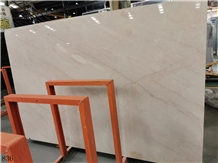 China California Beige Pink Marble Slab Wall Tile