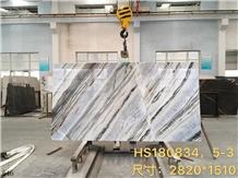 China Changbai Blue Jade Marble Danube Slab Tile