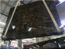 China Dark Braun Emperador Marble Slabs Stone Tile