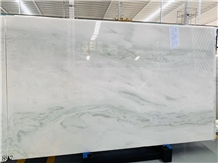 China Empress White Fangshan Jade Green Slab