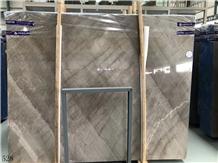 China Sandy Gold Brick Grey Marble Slab Wall Tile