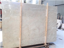 England Beige Marble Cream Stone Slab in China