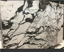 Indai Louvre White Marble Slab Wall Caldding Tile