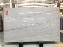 Iran Bianco Persia Marble Alpine Mike White Slab