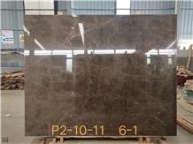Italy Brown White Vein Marble Skirting Floor Tiles