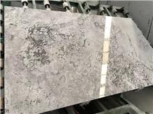 Likya Grey Marble Buddy Gray Ash Marble Slab Tile