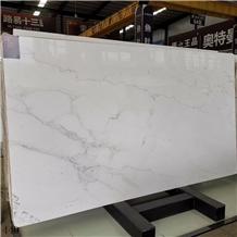 Linken White Marble Lincoln Tajikistan Slab Floor