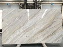 Nikisiani White Marble White Jade Marble Slab Tile