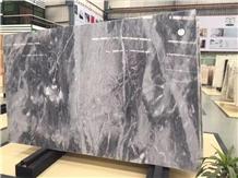 Picasso Grey Carrara Ash White Marble Tiles