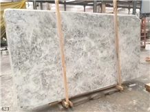 White Calcite Marble Marble Slab in China Market