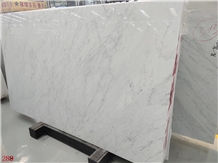 White Carrara Snow Marble Slabs Arabescato Corchia