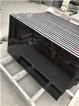 Absolute Black Granite for Countertop Floor