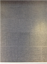 China Black Mongolia Black Basalt Flamed Flooring