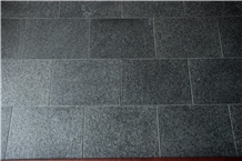 Fuding Black Pearl Granite Tiles Slabs