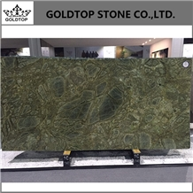 Iran Persian Olive Green Marble Slabs and Tops