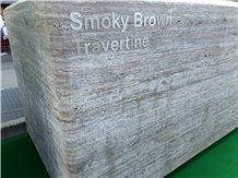Smoky Brown Travertine Blocks