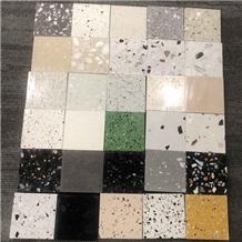 Muticolor Cement Flooring Terrazzo Floor Tiles