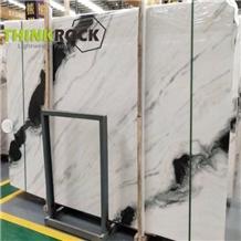 Panda White Marble for Interior Flooring Wall Tile