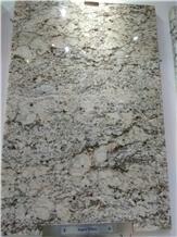 Aspen White Granite Slabs, Tiles