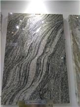 New Viscount White Granite Slabs, Tiles