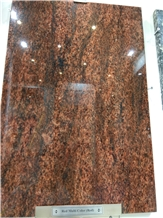Red Symphony Granite Slabs, Tiles