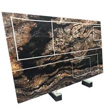 Brazil Magma Gold Granite Kitchen Countertops