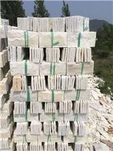 Beige White Mushroom Stone Quartzite Stone
