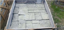 Black Free Stone Irregular Interior Wall Stone