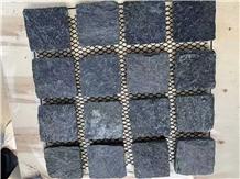 Black Horseshoe Stone Pavers Floor Stone