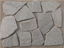 China Grey Laying Stone Irregular Pavers Random